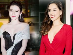 Thời trang - Tuyển tập váy khoét xẻ, xuyên thấu của nàng hậu Việt