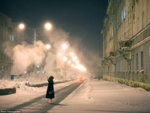 Cuộc sống ở thành phố lạnh dưới -55 độ C