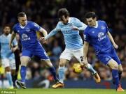 Bóng đá Ngoại hạng Anh - Chi tiết Man City - Everton: Gió đổi chiều (KT)