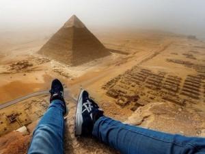 Thế giới - Chấp nhận đi tù 3 năm để được trèo kim tự tháp Ai Cập