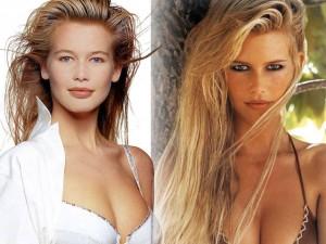Làm đẹp - Bí quyết da mịn, tóc mượt của siêu mẫu thập niên 90