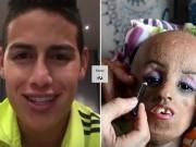 Bóng đá - Sao Real & câu chuyện cảm động với cô gái hóa bà lão