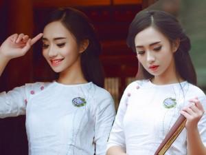 Bạn trẻ - Cuộc sống - Hoa khôi gốc Hà Nội sở hữu đôi chân dài 1,1m