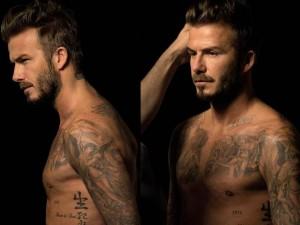 Thời trang nam - David Beckham điển trai, bán nude khi làm người mẫu