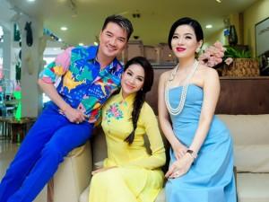 Đời sống Showbiz - Mr Đàm hào hứng gặp gỡ Phạm Hương, Lệ Quyên