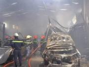 Tin tức trong ngày - Họp báo nhanh sau vụ cháy lớn ở gara ô tô giữa Sài Gòn