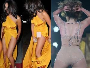 Thời trang - 1001 'tai nạn' váy áo khiến sao ngượng đến tái mặt