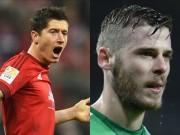"""Bóng đá - Hoãn cấm vận, Real tính """"cuỗm"""" Lewandowski & De Gea"""