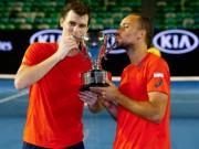 Thể thao - Australian Open ngày 13: Anh trai Murray vô địch đôi nam