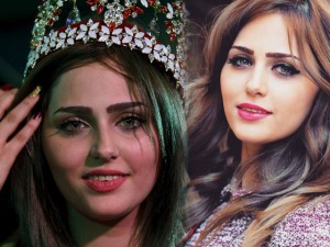Thời trang - Hoa hậu Iraq tiếp tục thể hiện không sợ IS