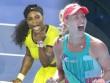 """Hot shot: """"Nadal nữ"""" thủ vững công cường hạ Serena"""