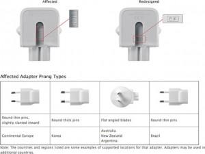 Công nghệ thông tin - Apple thu hồi bộ sạc AC gây giật điện