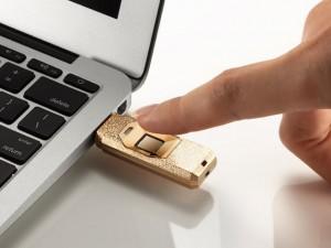 """Máy in/phụ kiện - Apacer ra mắt USB """"kim cương"""" tích hợp cảm biến vân tay"""