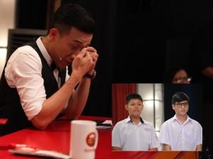 Phim - Trấn Thành khóc nức nở vì cặp học sinh giành 150 triệu
