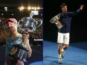 Thể thao - Tennis 24/7: Djokovic, Kerber khắc tên vào lịch sử