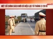 Video An ninh - Các trường hợp CSGT được phép dừng phương tiện