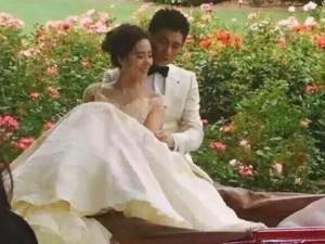 Đời sống Showbiz - Lộ ảnh cưới lãng mạn của cặp sao 'Bộ bộ kinh tâm'