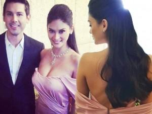 Tân Hoa hậu Hoàn vũ siêu gợi cảm khi làm phù dâu