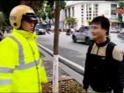 Video An ninh - Ngày đầu xử phạt người đi bộ ở HN, người dân ngỡ ngàng
