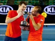 Thể thao - Uống 22 ly cafe để vô địch 2 Grand Slam 1 ngày