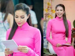 Thời trang - Hoa hậu Phạm Hương hồi hộp làm MC