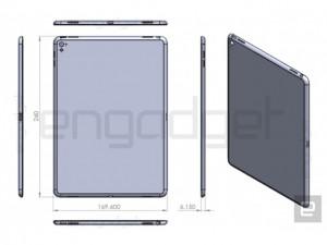 iPad Air 3 lộ thiết kế, dày hơn iPad Air 2