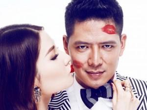 Phim - Diễm My 9x in dấu son môi khắp mặt Bình Minh