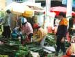 Chợ lá dong Sài Gòn tất bật những ngày giáp Tết