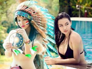 Bạn trẻ - Cuộc sống - 'Hot girl thổ dân': 'Đừng so sánh tôi với Bà Tưng'