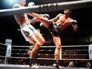 """Thể thao - Giang hồ """"no đòn"""" vì thách đấu võ sĩ Muay Thái"""
