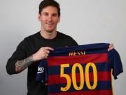 Bóng đá Tây Ban Nha - Messi cán mốc 500 bàn: Vĩ đại qua những con số