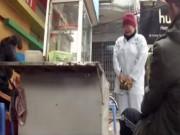 Camera giấu kín: Cô gái tâm thần trốn viện về ăn Tết