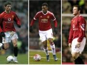 Bóng đá - Bước đầu ở MU: Martial chỉ kém Rooney, ăn đứt CR7