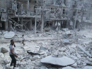 Cuộc sống tại thành phố chiến sự ác liệt bậc nhất Syria