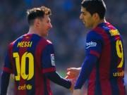 Bóng đá - Sao 360 độ 5/2: Messi tặng Suarez quà kỉ niệm chiến thắng