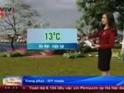 Tin tức trong ngày - Dự báo thời tiết VTV ngày 5/2