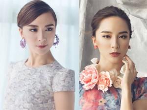 Thời trang - Á hậu Thiên Lý đẹp thanh tú những ngày cận Tết