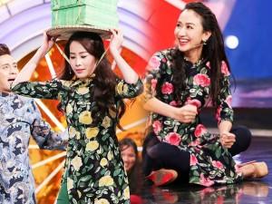 Thời trang - Dàn người đẹp diện áo dài 'quậy tung' show cuối năm
