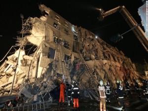 4 người Việt mất tích trong vụ động đất tại Đài Loan