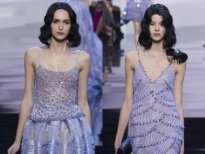 Thời trang - Armani biến váy ngủ thành thời trang cao cấp