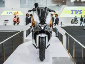 Ô tô - Xe máy - Soi mẫu xe ga TVS ENTORQ210 mới hoàn toàn