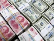 """Ngân hàng - Dự trữ ngoại hối Trung Quốc """"bốc hơi"""" gần 100 tỉ USD"""
