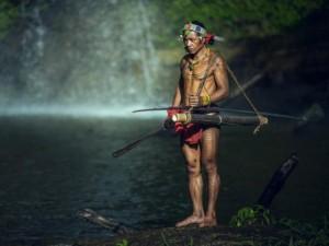 Thế giới - Cuộc sống của bộ lạc nguyên thủy ở Indonesia