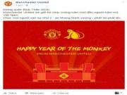 Bóng đá - Đại gia châu Âu chúc Tết Việt Nam: Vui buồn fan MU