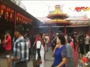 Video An ninh - Người dân châu Á nô nức đi lễ chùa cầu may