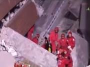 Video An ninh - Đài Loan: Giải cứu 247 người mắc kẹt sau động đất