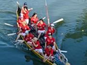 Tin tức trong ngày - Bình Định: Sôi nổi lễ hội đua thuyền