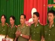 An ninh Xã hội - 4 chiến sĩ công an chặn vụ cướp liên hoàn đầu năm mới