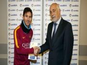 Bóng đá - Messi hoàn tất danh hiệu còn thiếu trong sự nghiệp