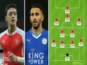 """Bóng đá - Arsenal, Leicester thống trị """"Dream team"""" của Henry"""